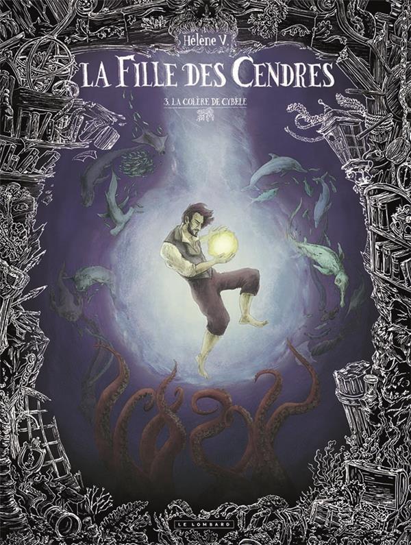 Couverture de La fille des Cendres -3- La colère de Cybèle