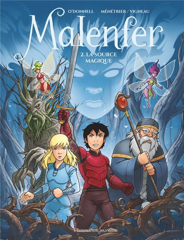Couverture de Malenfer -2- La source magique