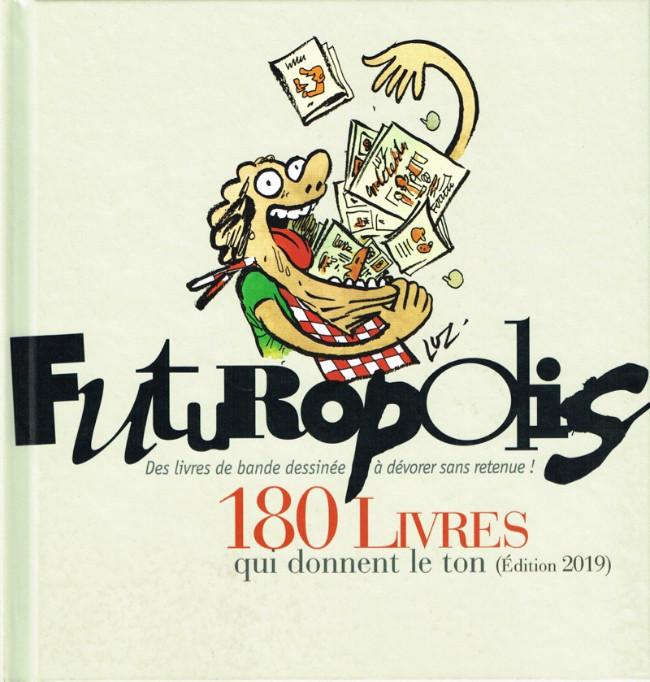 Couverture de (DOC) Futuropolis - Futuropolis, 180 livres qui donnent le ton
