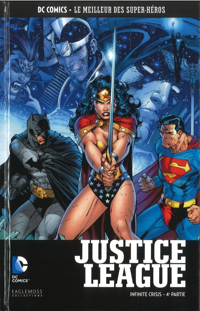 Couverture de DC Comics - Le Meilleur des Super-Héros -HS11- Justice League - Infinite Crisis - 4e partie