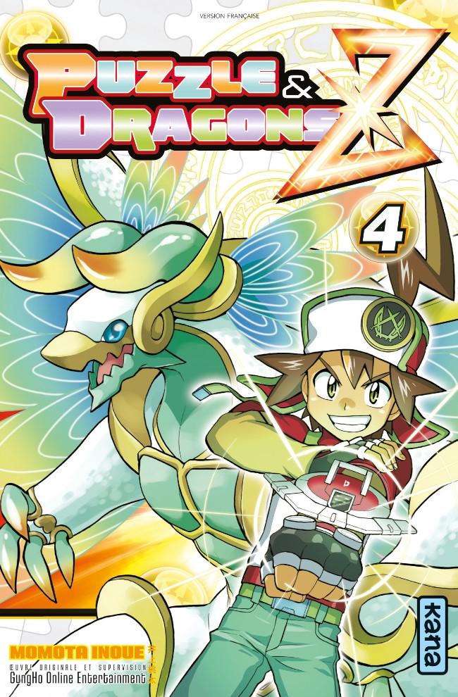 Couverture de Puzzle & Dragons Z -4- Tome 4