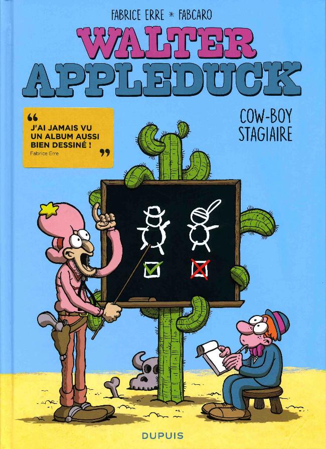 Couverture de Walter Appleduck -1- Cow-boy stagiaire