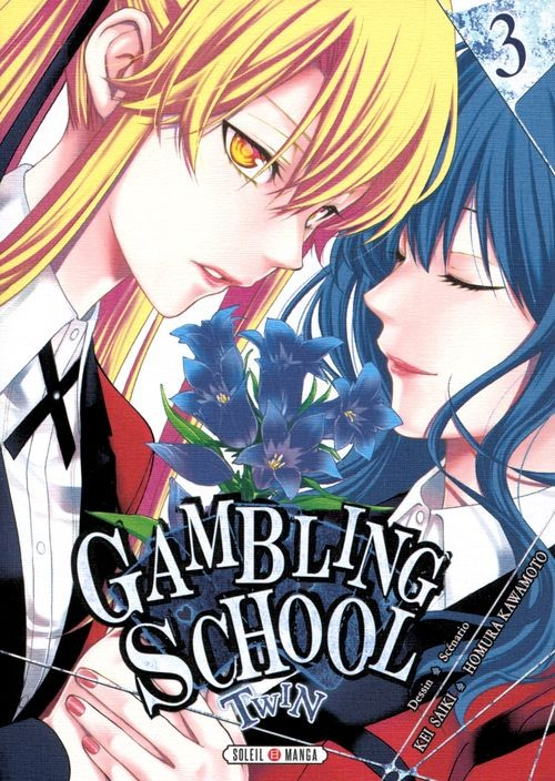 Couverture de Gambling School - Twin -3- Volume 3