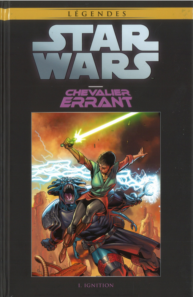Couverture de Star Wars - Légendes - La Collection (Hachette) -8419- Chevalier Errant - I. Ignition