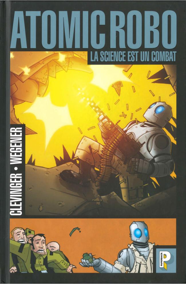 Couverture de Atomic Robo -1- La science est un combat