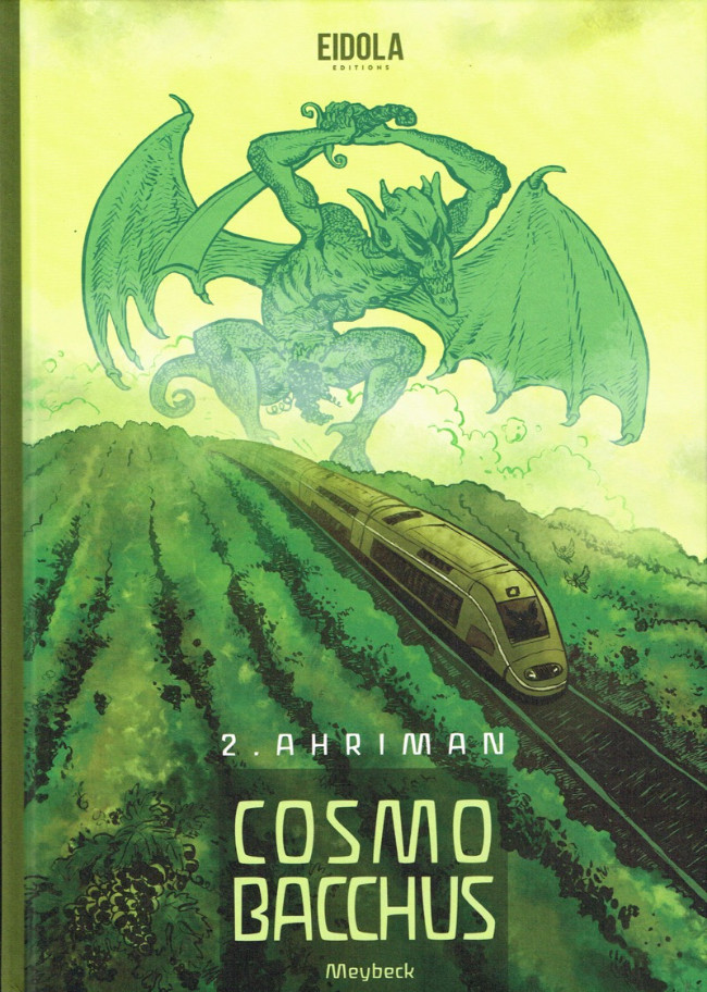Couverture de Cosmobacchus -2- Ahriman
