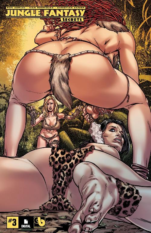 Couverture de Jungle Fantasy - Secrets (2018) -3- Issue 3