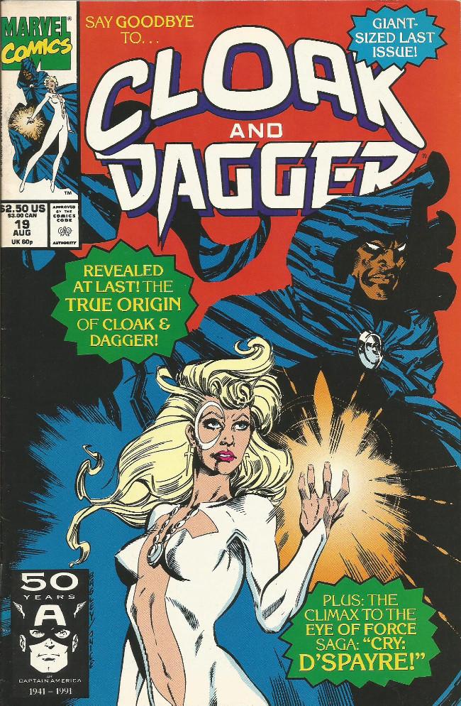 Couverture de Cloak and Dagger (The mutant misadventures of) (1988) -19-