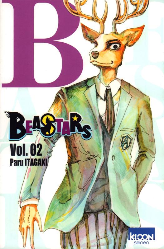 Couverture de Beastars -2- Vol. 02
