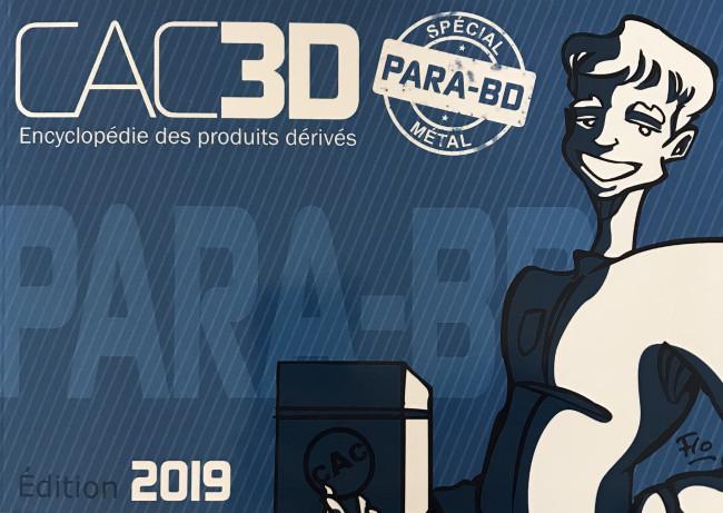 Couverture de (DOC) CAC3D -14- CAC3D - Edition 2019 - Para-bd métal