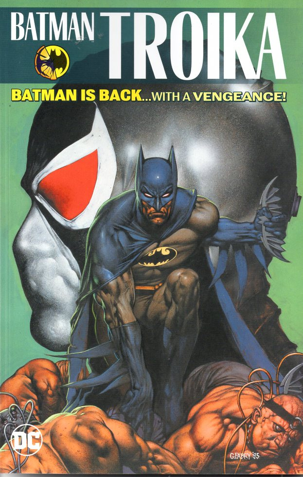 Couverture de Batman (1940) -INT- Troika