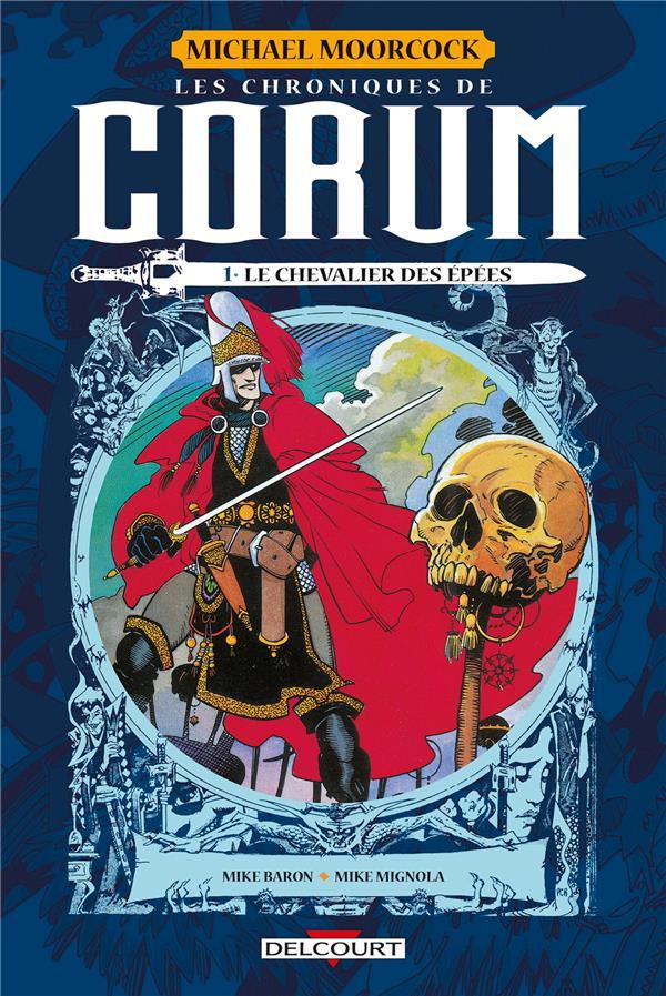Couverture de Les chroniques de Corum -1- Le chevalier des épées