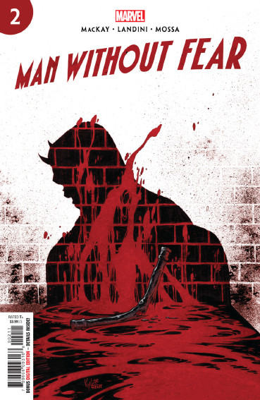 Couverture de Man without fear (2019) -2- Issue 2