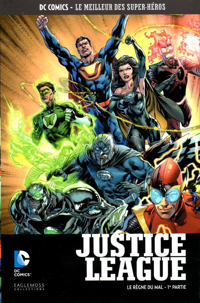 Couverture de DC Comics - Le Meilleur des Super-Héros -90- Justice League - Le Règne du Mal - 1re partie