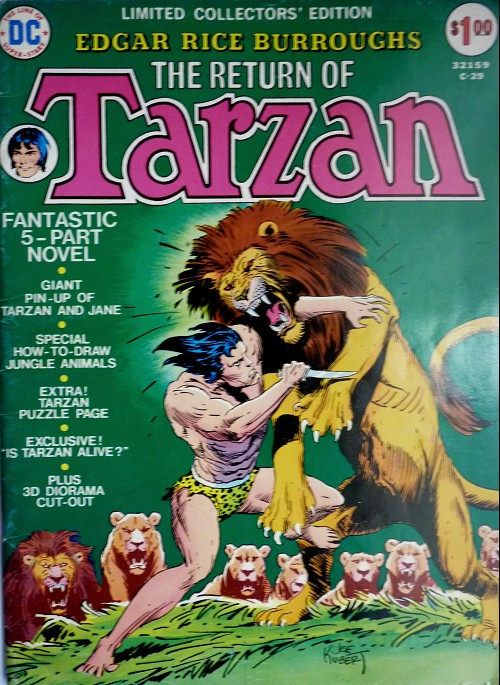 Couverture de Limited collectors' edition (1974) -C-29- The return of Tarzan
