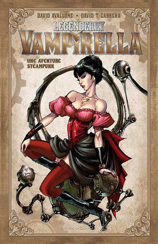 Couverture de Legenderry -4- Vampirella