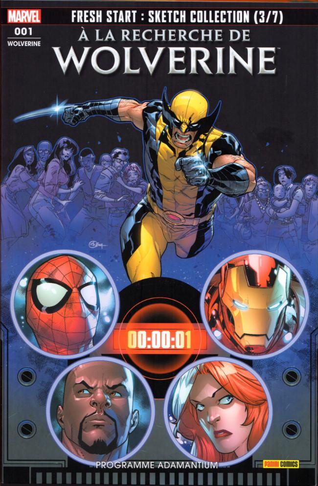 Couverture de Wolverine (Marvel France 5e série) (2019) -1- Programme Adamantium