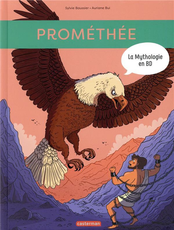 Couverture de La mythologie en BD -11- Prométhée