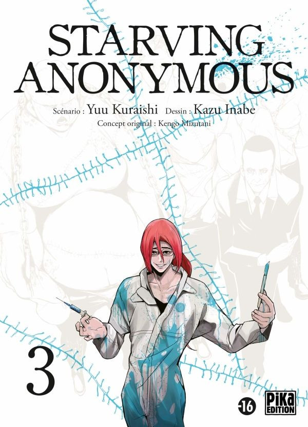 Couverture de Starving anonymous -3- Tome 3