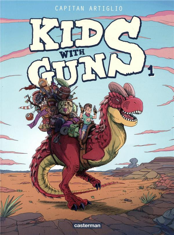 Couverture de Kids with guns -1- Tome 1