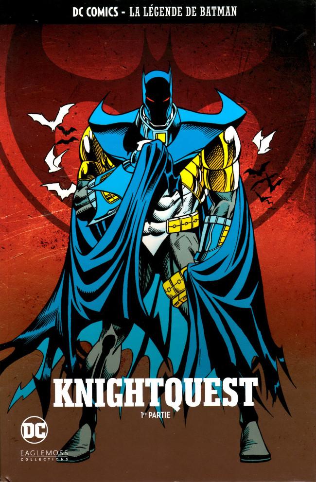 Couverture de DC Comics - La légende de Batman -3823- Knightquest - 1re partie