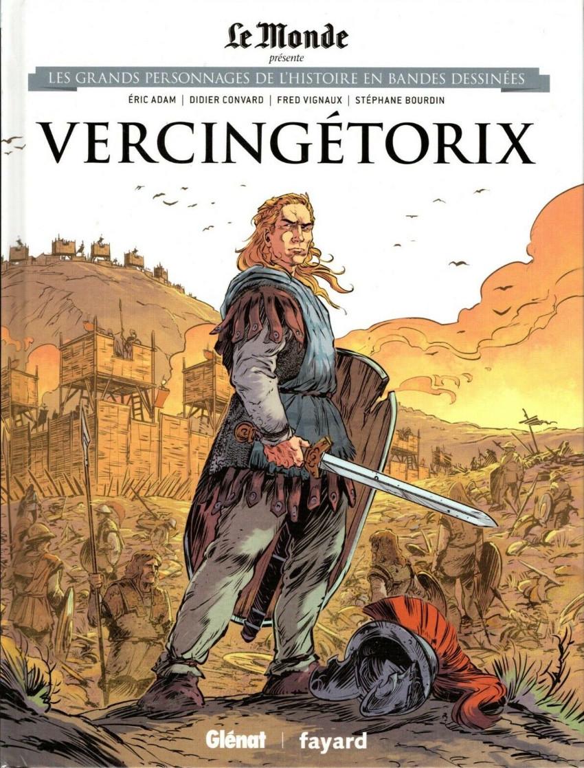 Couverture de Les grands Personnages de l'Histoire en bandes dessinées -2.- Vercingétorix