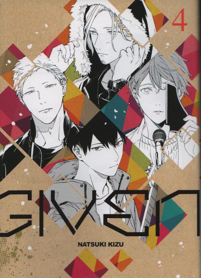 Couverture de Given -4- Tome 4