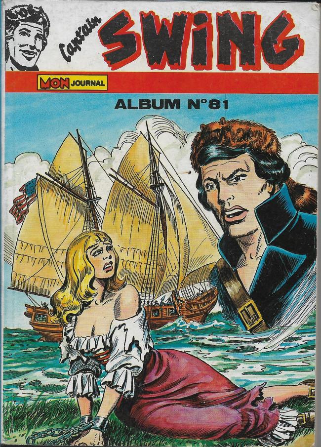 Couverture de Capt'ain Swing! (1re série) -Rec081- Album N°81 (du n°273 au n°275)