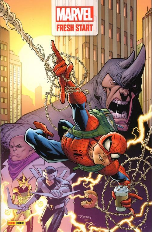 Couverture de Marvel fresh start