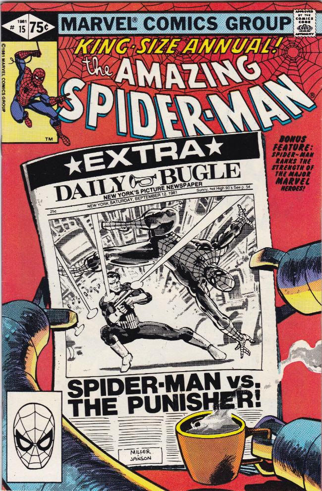 Couverture de Amazing Spider-Man (The) (1963) -AN15- Spider-Man vs. the Punisher!