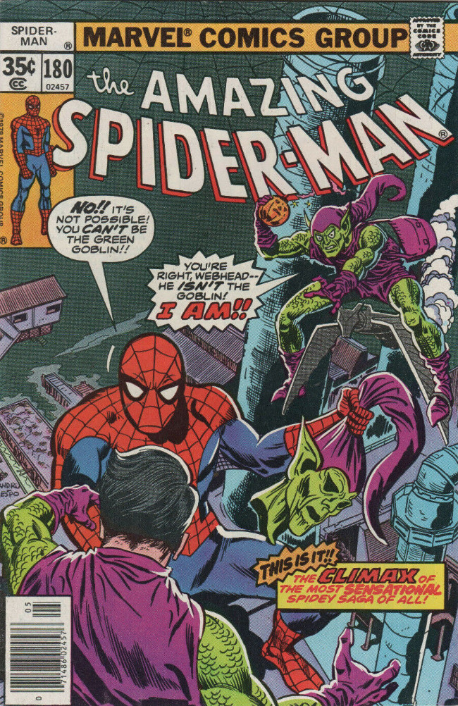 Couverture de Amazing Spider-Man (The) (1963) -180- Who Was That Goblin I Saw You With?