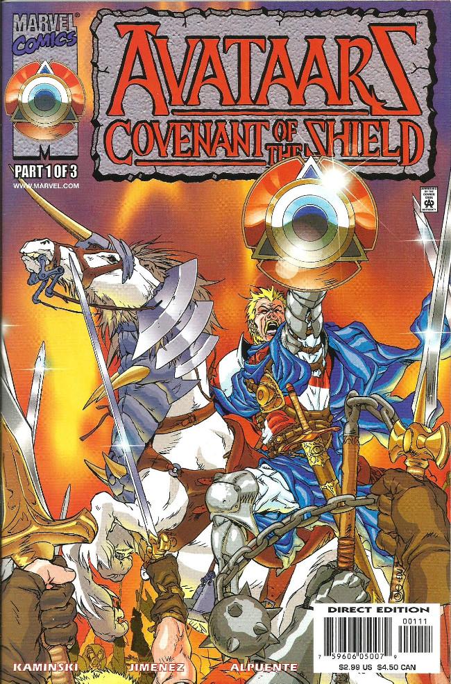 Couverture de Avataarz: Covenant of the Shield -1- Issue #1