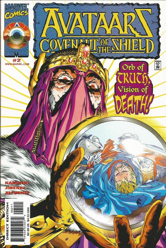 Couverture de Avataarz: Covenant of the Shield -2- Wild Kingdoms