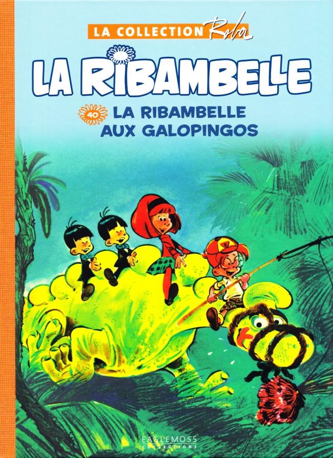 Couverture de Boule et Bill -15- (Collection Eaglemoss) -4012- La Ribambelle aux Galopingos