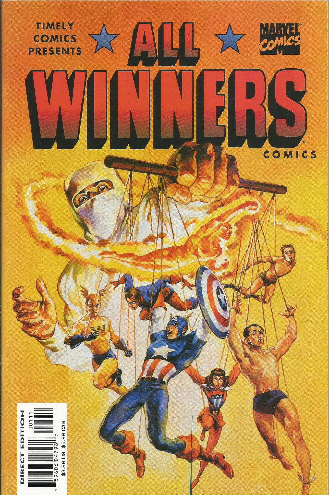 Couverture de All Winners Comics (1941) -19FS- The crime of the ages!
