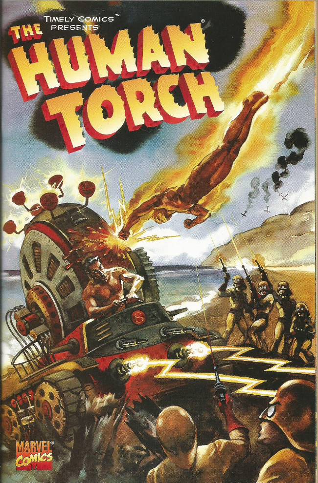 Couverture de Human Torch Comics (The) (1940) -05Fall- The Human Torch Battles the Sub-Mariner