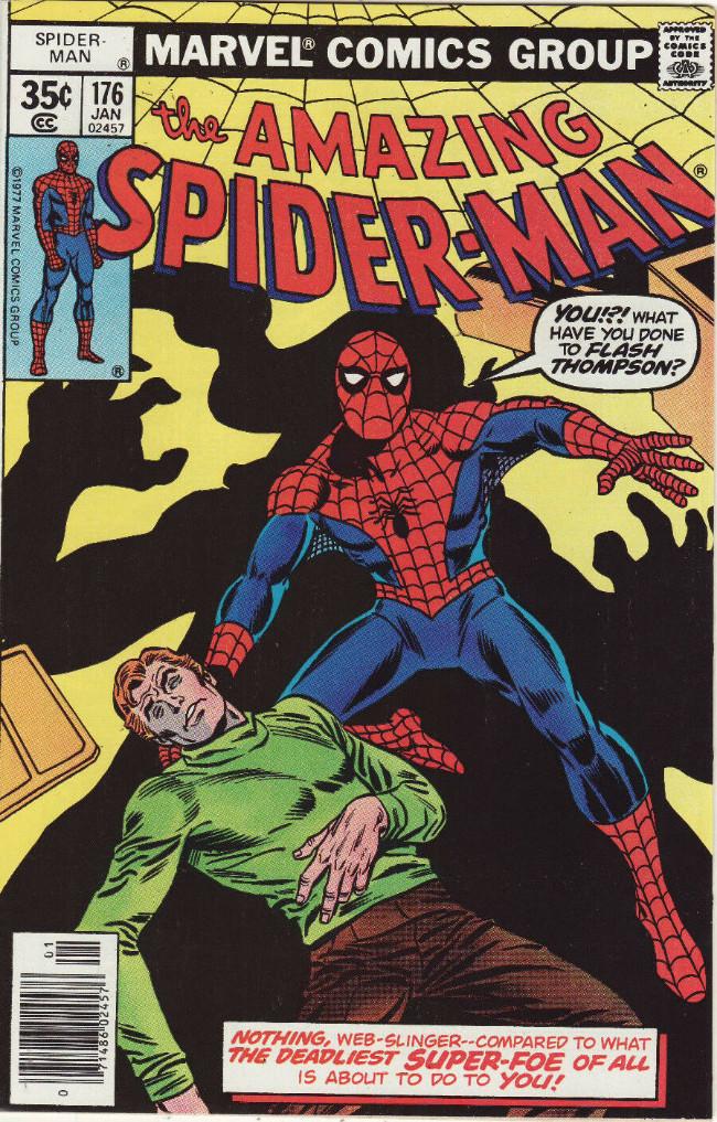 Couverture de The amazing Spider-Man Vol.1 (Marvel comics - 1963) -176- He Who Laughs Last...!