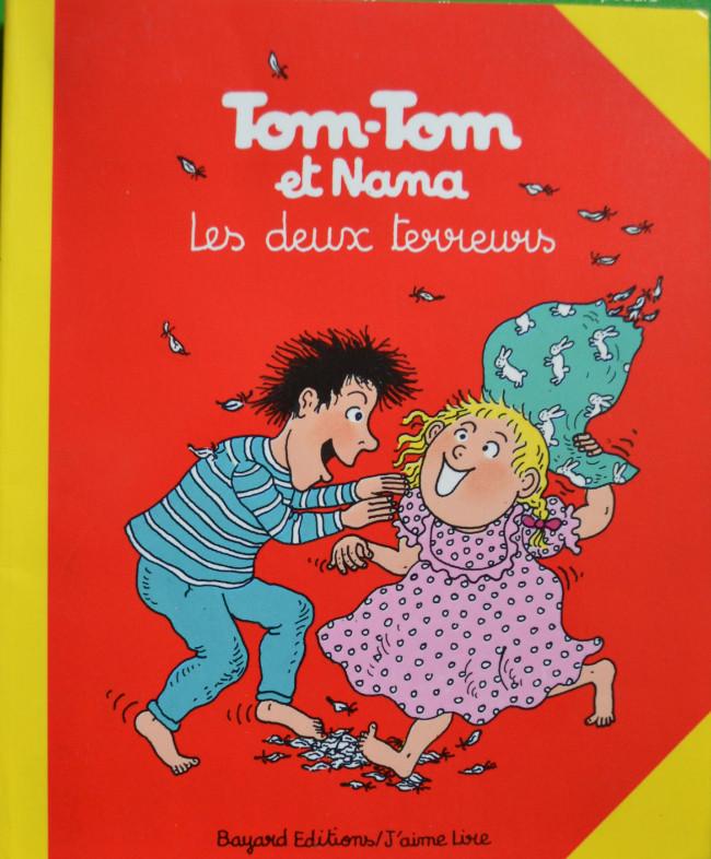 Couverture de Tom-Tom et Nana -8- Les deux terreurs