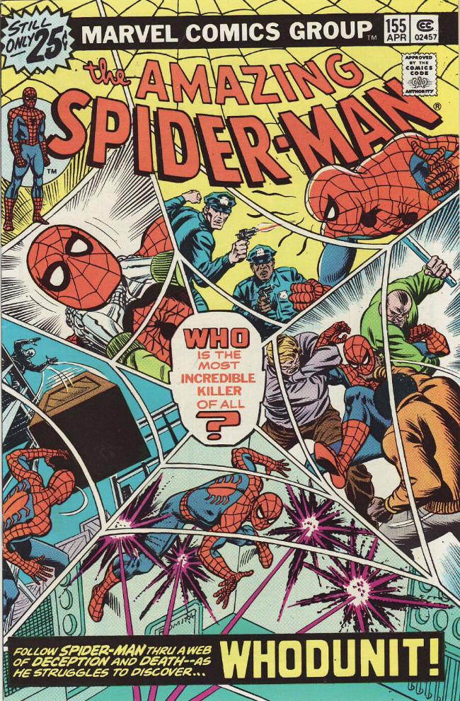 Couverture de Amazing Spider-Man (The) (1963) -155- Whodunit!