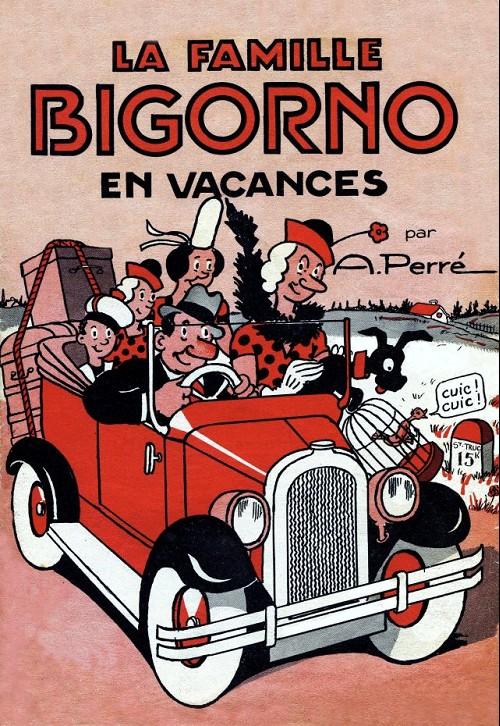 Couverture de La famille Bigorno -4- La famille bigorno en vacances