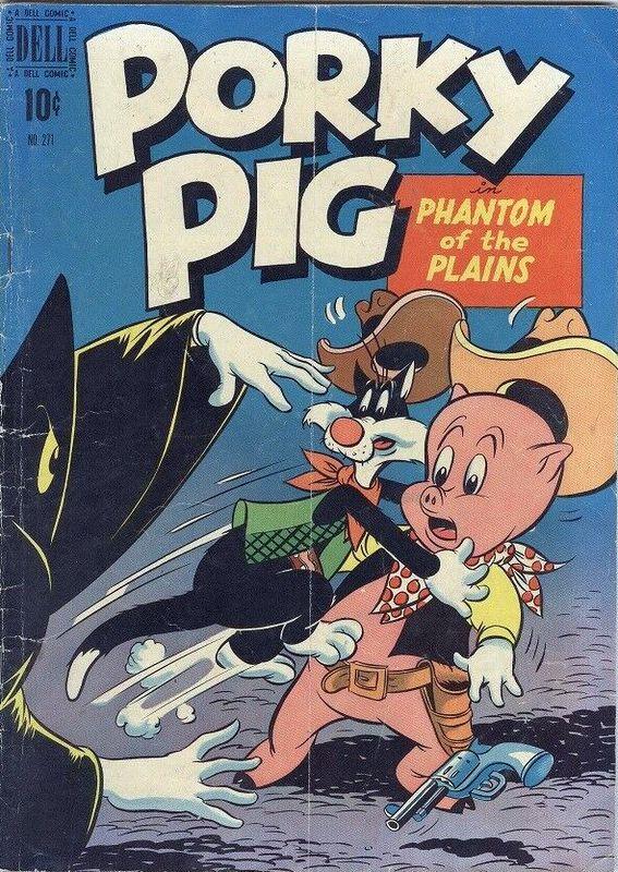 Couverture de Four Color Comics (Dell - 1942) -271- Porky Pig in Phantom of the Plains