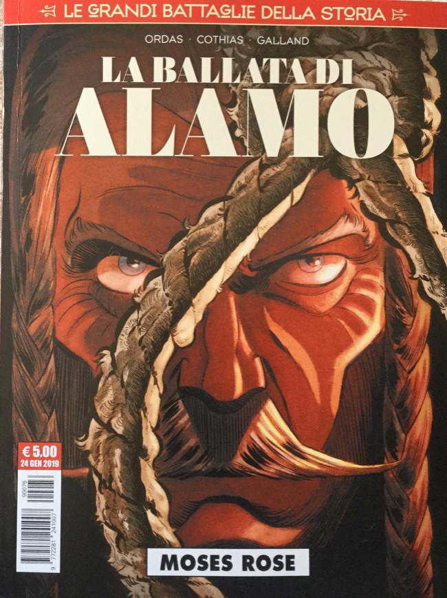 Couverture de Le grandi battaglia della storia -16- La ballata di Alamo