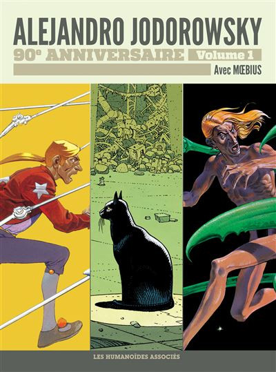 Couverture de Alejandro Jodorowsky 90e anniversaire -1- Volume 1