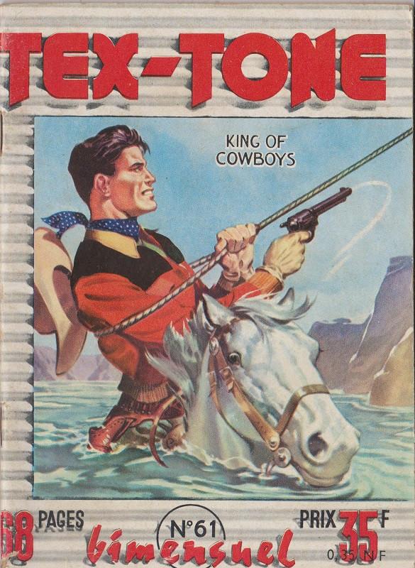 Couverture de Tex-Tone -61- Tex-Tone et le raider
