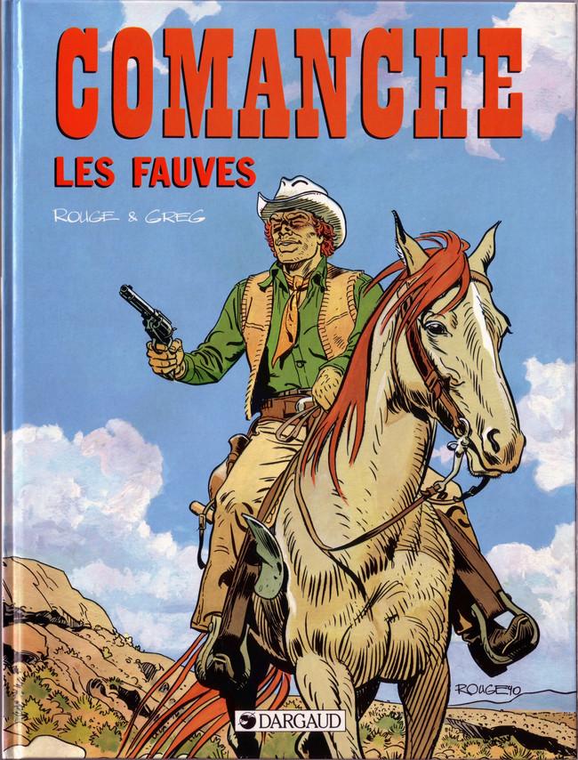Couverture de Comanche -11- Les fauves