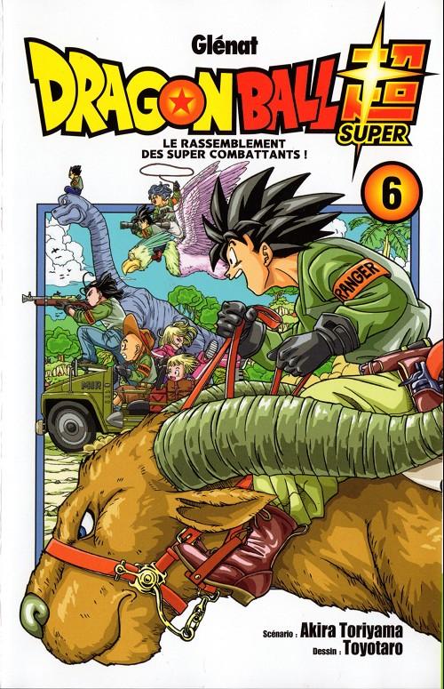 Couverture de Dragon Ball Super -6- Le rassemblement des super combattants