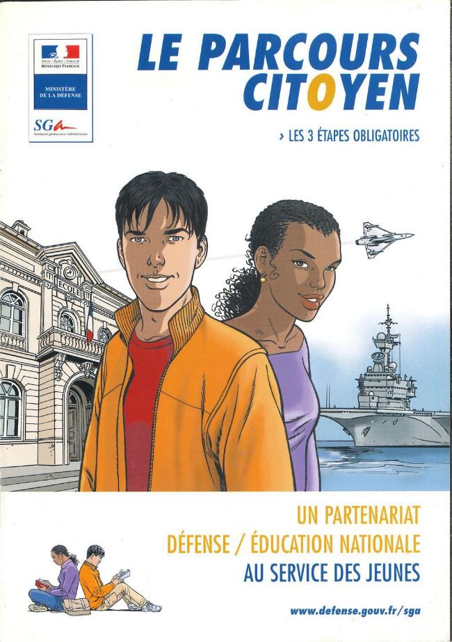 Couverture de Objectif citoyen - Le Parcours Citoyen
