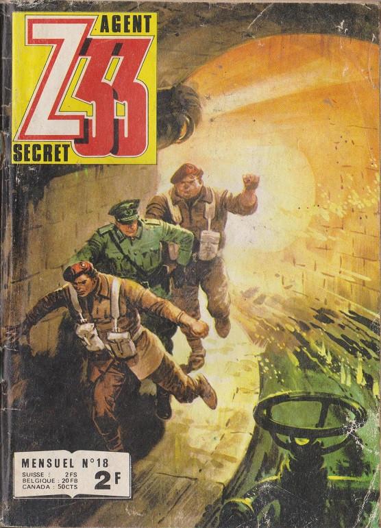 Couverture de Z33 agent secret -18- La nuit des espions