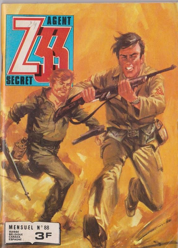 Couverture de Z33 agent secret -88- Les barbus