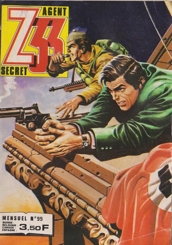 Couverture de Z33 agent secret -99- La guerre secrete du colonel Grütze